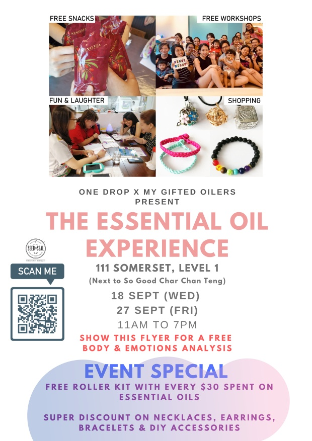 18 Sept (WED) 27 SEpt (FRI) 11am to 7pm